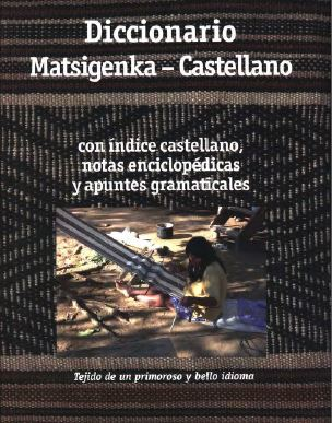 Matsigenka-Castellano Dictionary cover